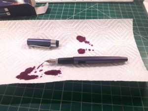 009-new-pen-day-diplomat-magnum-prismatic-purple-inked-up-put-together