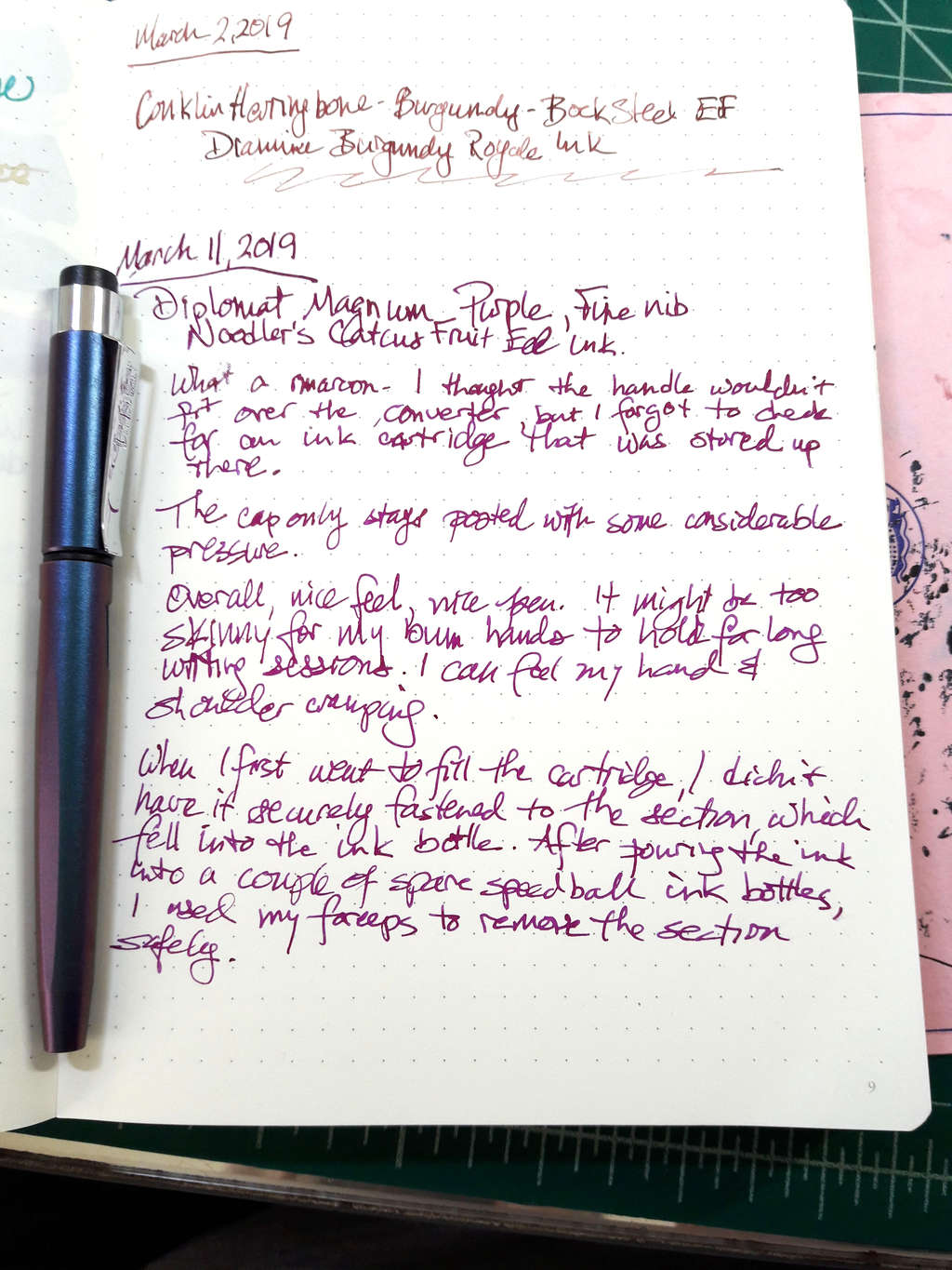 010-new-pen-day-diplomat-magnum-prismatic-purple-writing-sample-and-review
