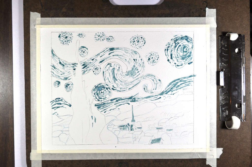 010-painting-day-sketch-with-masking-fluid