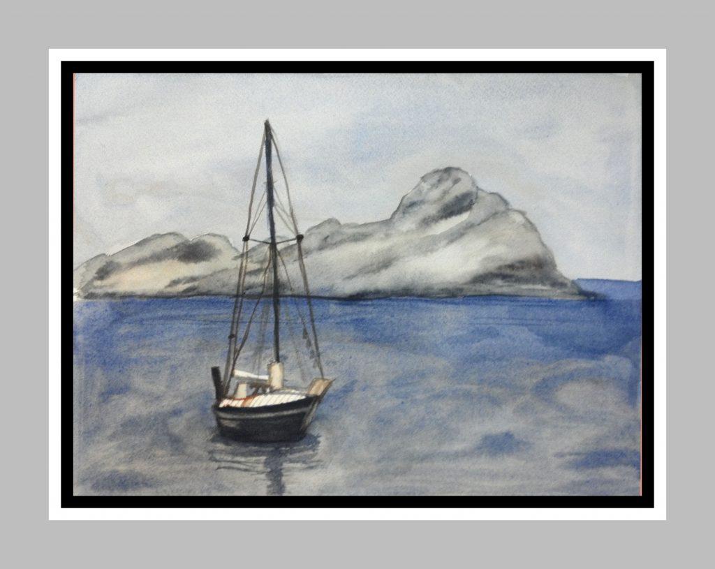 Misty Sail Boat