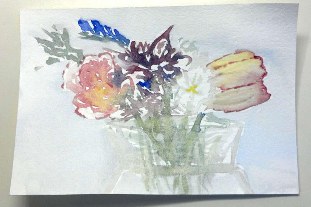 Practice flowers