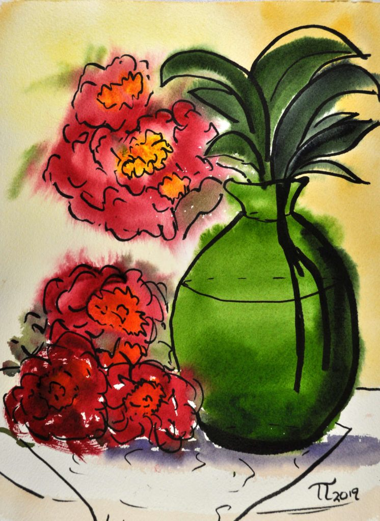 2019-05-14-green-vase-and-peonies-wet-on-wet-005-cropped