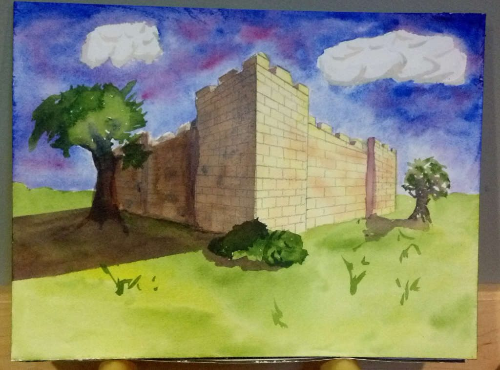 Castle, perspective exercise
