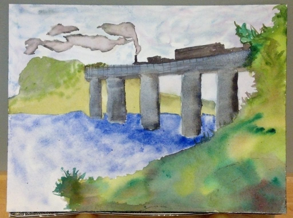 Copy of Monet's Railroad Bridge